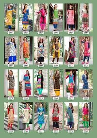 Low Range Ladies Cotton Kurtis