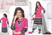 Ladies Cotton Printed Dress Material Fabrics