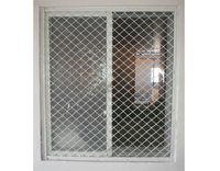 Aluminium Sliding Window With Aluminium Grill