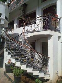 Spiral Staircase Handrails
