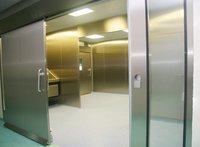 Hermatically Sealed Sliding Door
