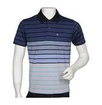 Stripes Polo T Shirt
