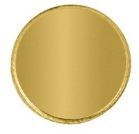 Plain Gold Coin