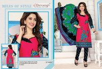 Fancy Cotton Printed Salwar Kameez