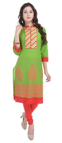 Ethnic Pure Cotton Kurti