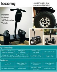 Locomo Self Balancing Vehicle