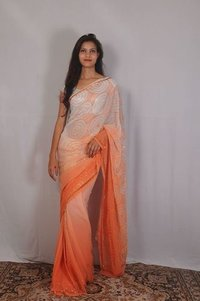 Hand Work Designer Saree with Blouse