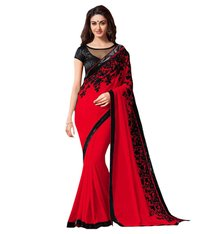 Plain Party Wear Saree