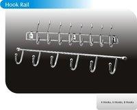 Stainless Steel Hook Rail