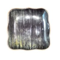 Antique Horn Square Tray