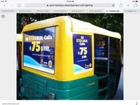 Auto Rickshaw Advertisement Services