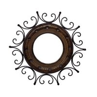 Iron Circular Mirror Holder