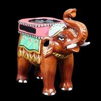 Handicraft Elephant Statue