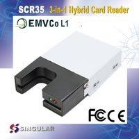 Emv Usb Smart Chip Magnetic Card Reader