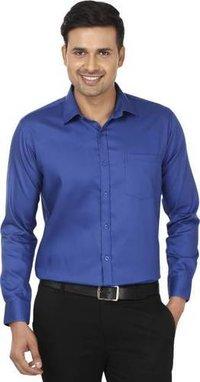 Blue Mens Formal Shirt