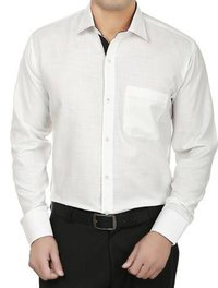 Mens White Formal Shirt