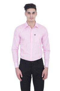 London Looks Pink Men Formal Shirts