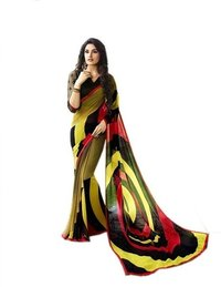 Latest Digital Printed Saree