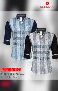 Mens Full Sleeve Shirts D-4993 F/S