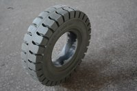 Resilient Non-marking Solid Tyre 3.00x5 for JLG Forklift