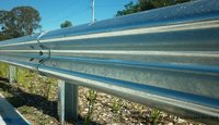 Highway Metal W Beam Crash Barrier