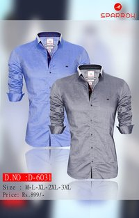 Branded Mens Plain Shirt
