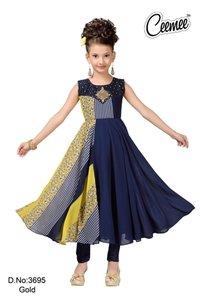 Designer Girls Anarkali Suit