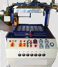 Semi Automatic Thermocol Thali Plate Dona Making Machine
