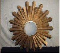 Wood Design Iron Mirror Frame