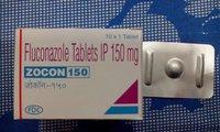 Zocon 150 Fluconazole Tablets