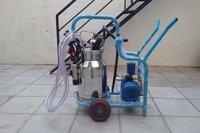 Trolley Type Milking Machine