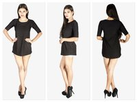 Ladies Long Sleeve Short Dress