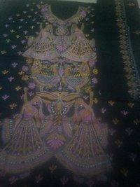 Ladies Kantha Stitch Suit Piece