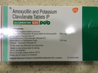 Augument Amoxycillin And Potassium Clavulanate Tablets