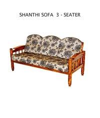 Shanthi 3 Seater Sofa Set