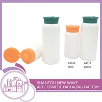Plastic Talcum Powder Bottle And Container With Sieve Pore