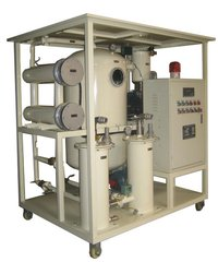 Two Stage High Vacuum Transformer Oil Filtration Machine