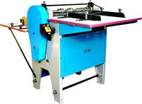 Title Creasing, Perforating / Half Sticker Cutting Machine