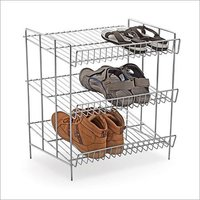 Stainless Steel Wire Shoe Rack Basket