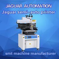 LED SMT Semi Auto Solder Paste Printer