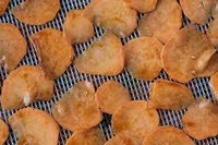 Raw Potato Sweet Chips