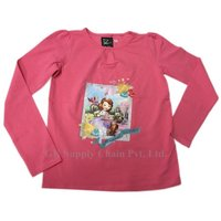 Printed Girls T Shirt