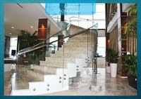 Glass Stairs And Railings