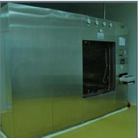 Horizontal Double Door (Sliding) Rectangular Sterilizer