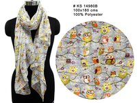 Polyester Printed Long Stole