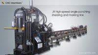 Angle Steel Punching Shearing and Marking Machine Line