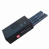 Black Portable High Power 3G 4G LTE Mobile Phone Jammer