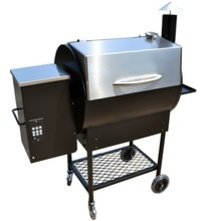 Electric Pellet Smoker BBQ Grill with PID Digital Controller
