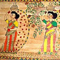 Ethnic Madhubani Paintings