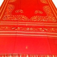 Handloom Shawls With Computer Embroidery